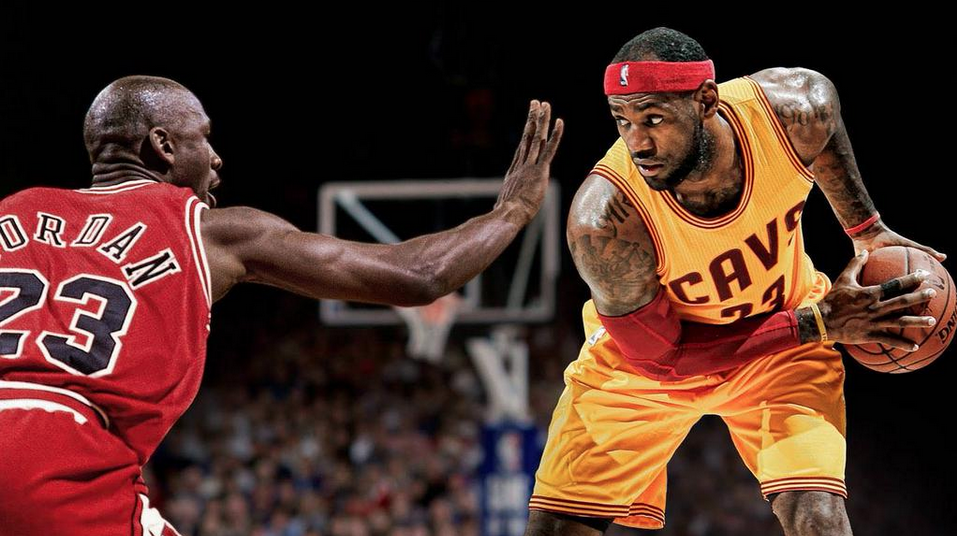 super popular 2f24e d1ac5 The Misconception Around the LeBron vs. Jordan Finals Argument