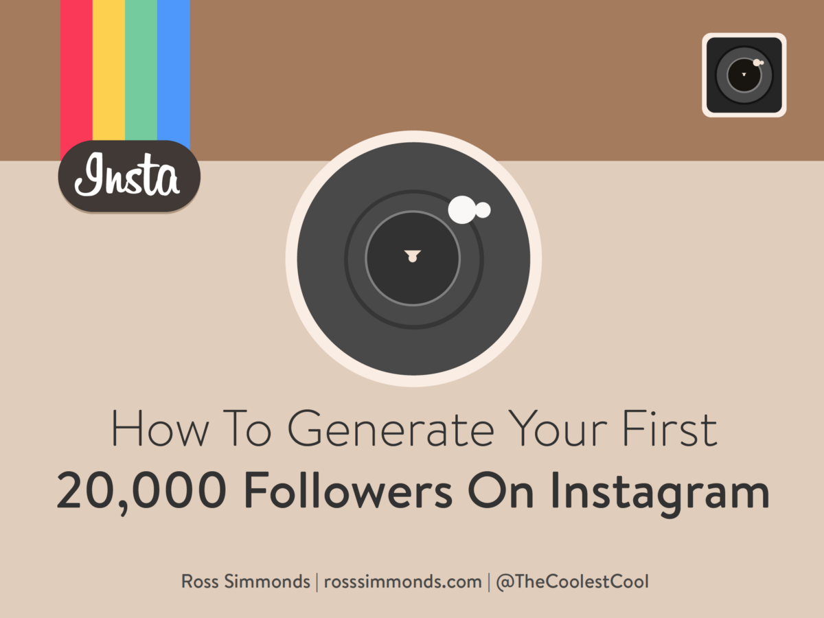 how to get 20 followers on instagram