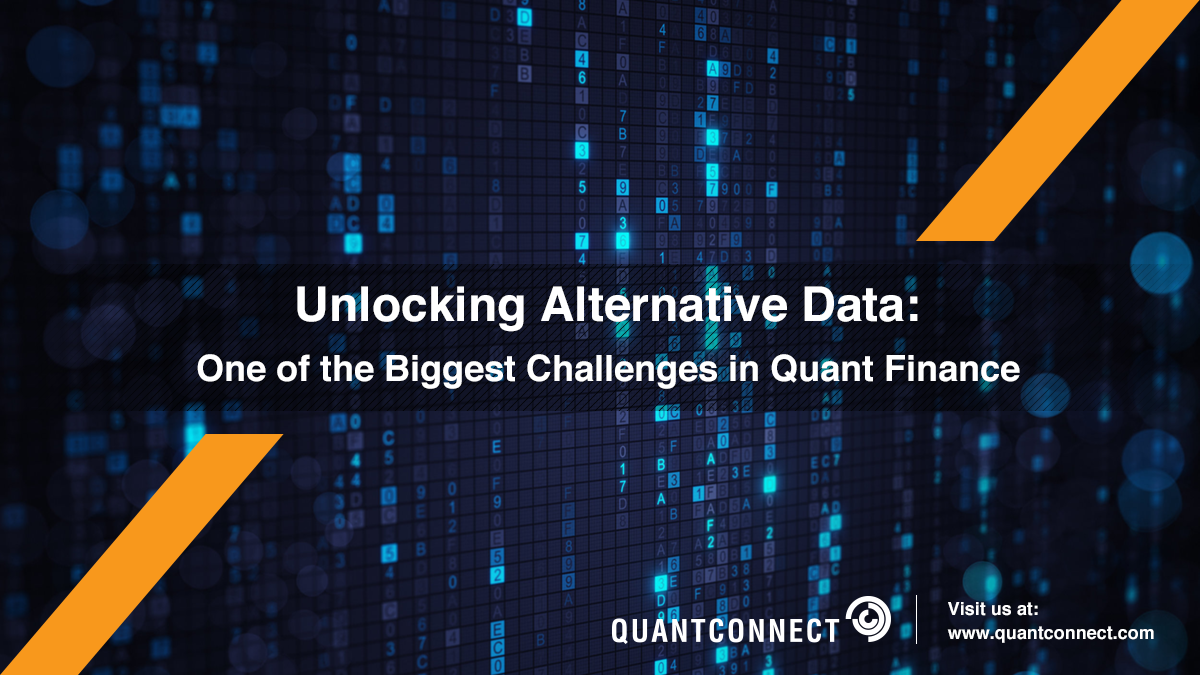 Unlocking Alternative Data : One of the Biggest Challenges in Quant