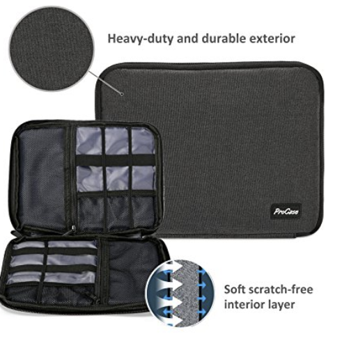 3b8fbf3e3b5b This discounted organizer will keep all your cords and electronics neat and  easily accessible.