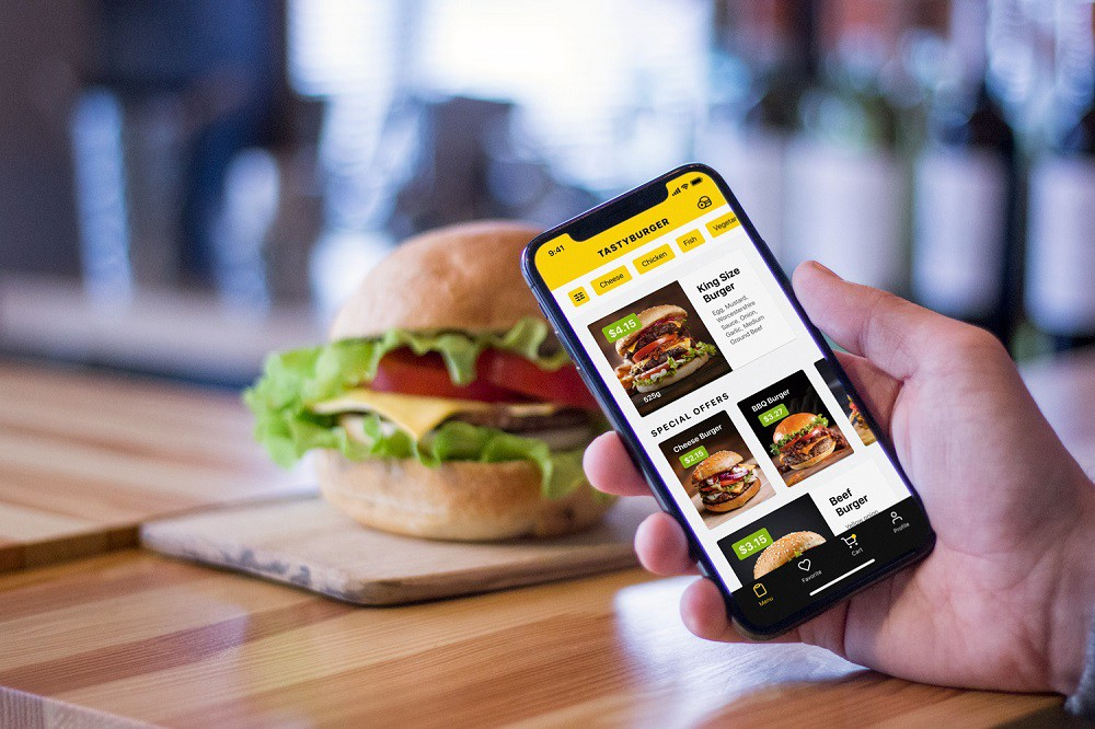 Case Study: Tasty Burger. UI Design for a Food Ordering Mobile Application