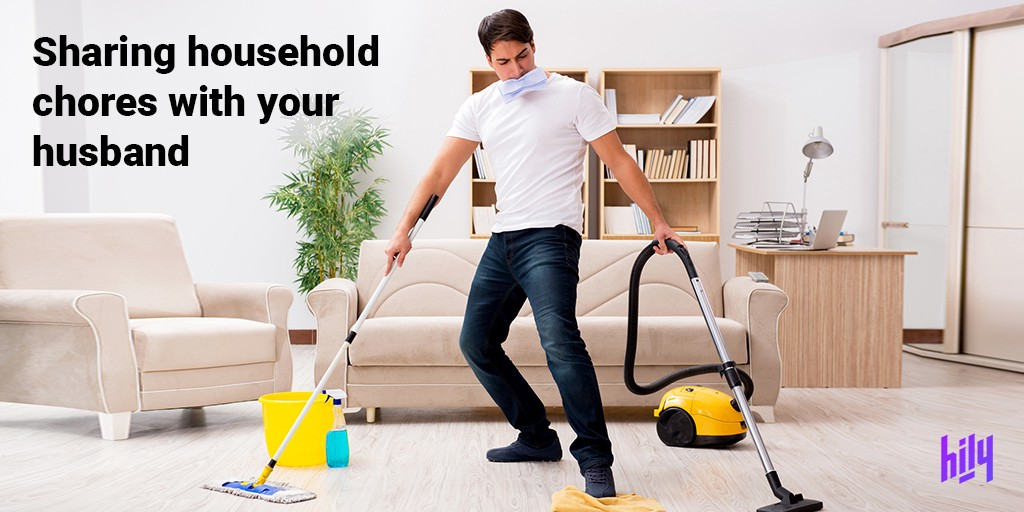 sharing household chores with your spouse hily medium