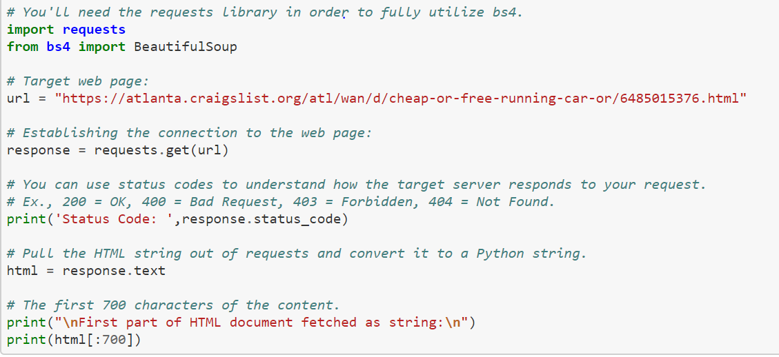 Web Scrapping 101 Using Beautiful Soup In 5 Minutes