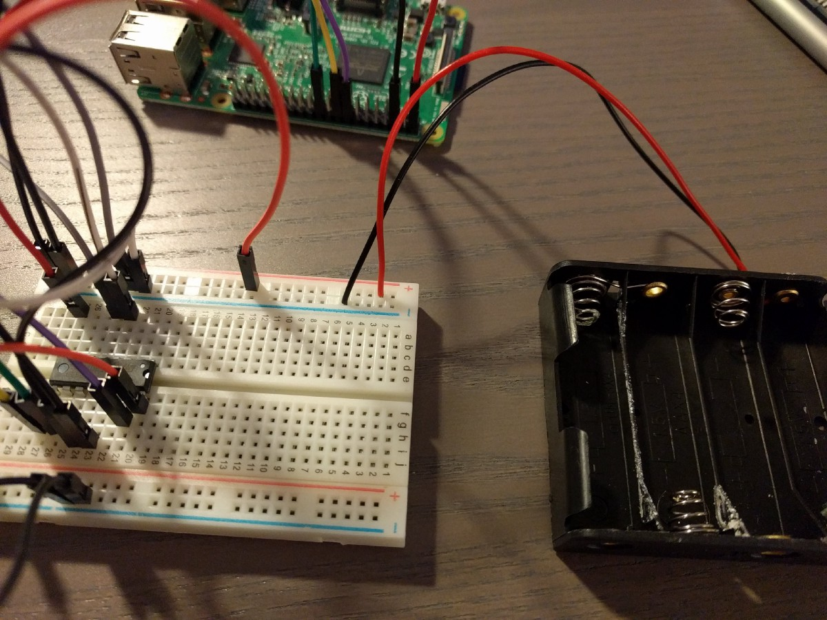 Controlling Dc Motors Using Python With A Raspberry Pi 40 Pin Wiringpi Quellcode And The Final Step For First Motor Is To Add Actual This Gets Added Only Pins On One Side That Have Not Been Filled
