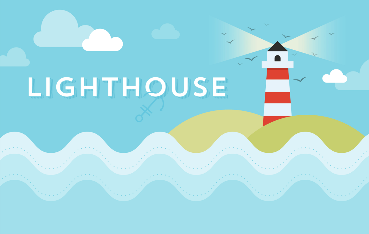 Create a lighthouse in Adobe Illustrator