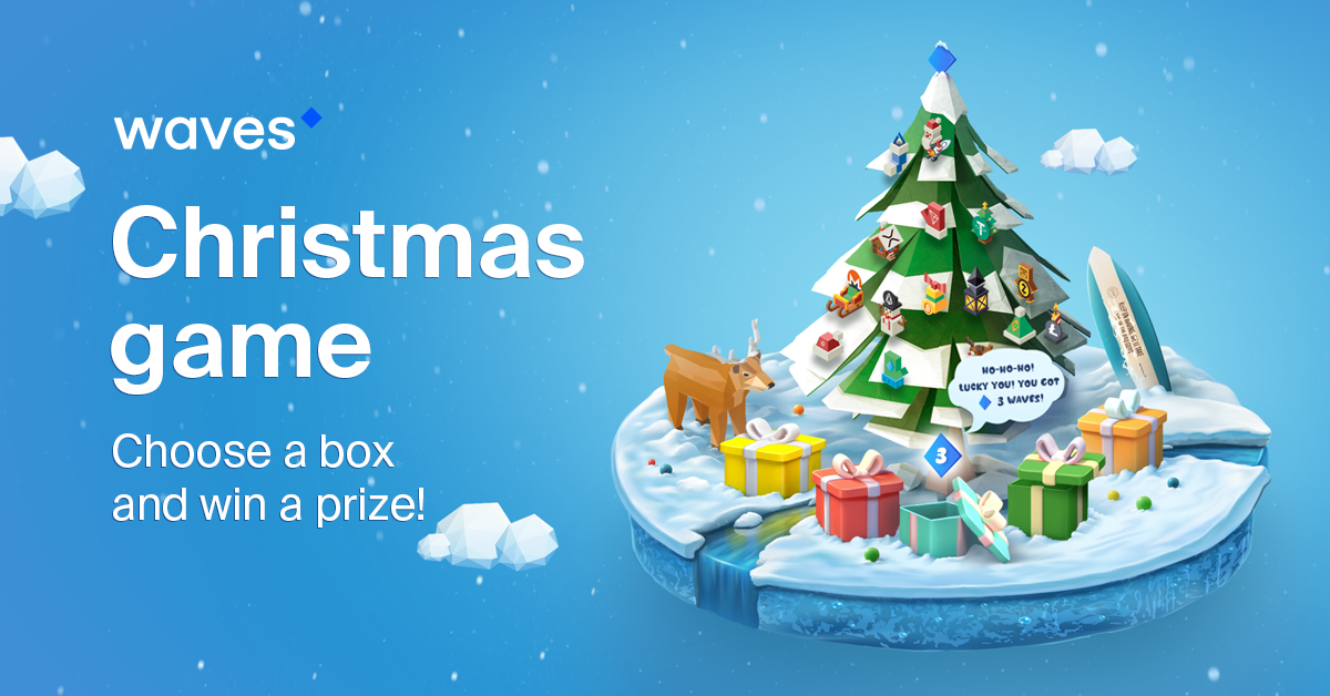 Waves Christmas Game Powered By Smart Contracts Waves Platform
