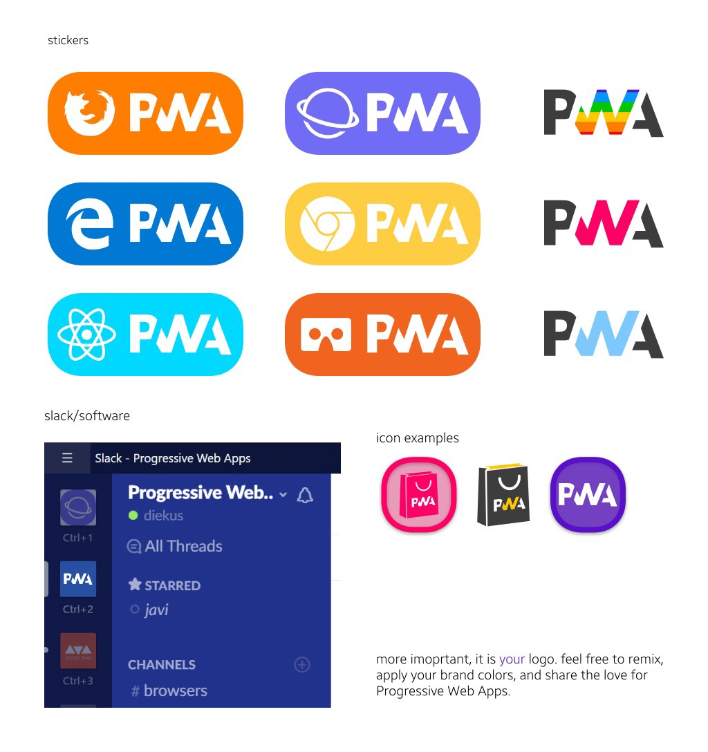 we now have a communityapproved progressive web apps logo