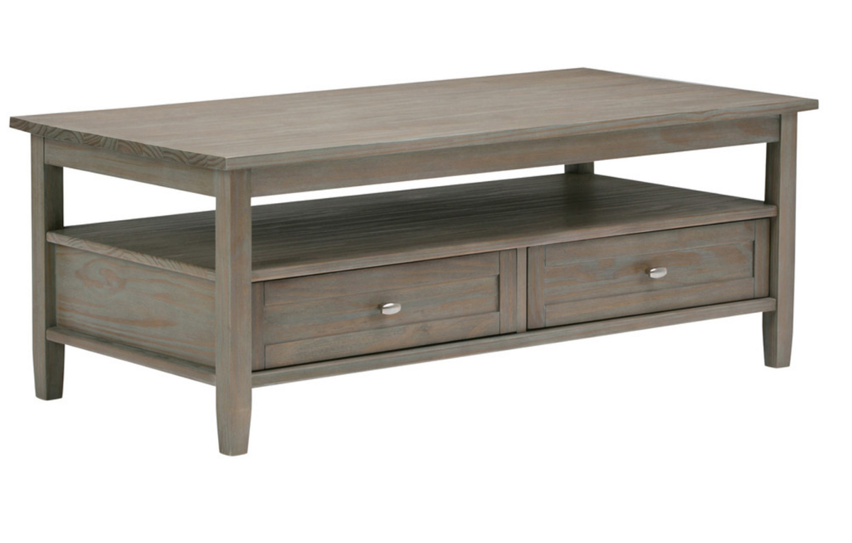 Warm Shaker Coffee Table And Monroe Square