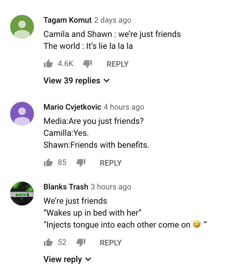 Some comments from Señorita