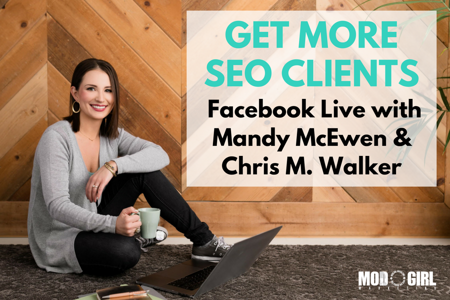 How to Get High-Paying SEO Clients: Facebook Live with Chris M. Walker