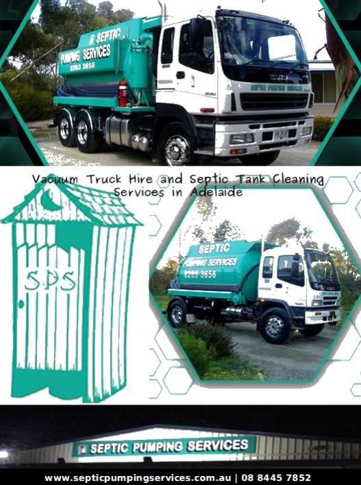 Vacuum Truck Hire and Septic Tank Cleaning Services in