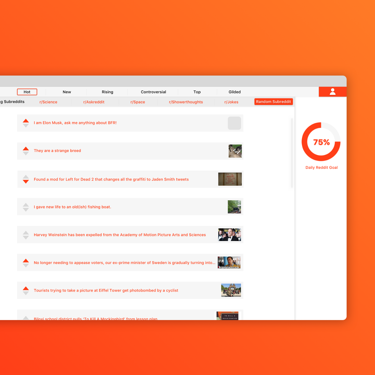 Redesigning the Onboarding Process for Reddit