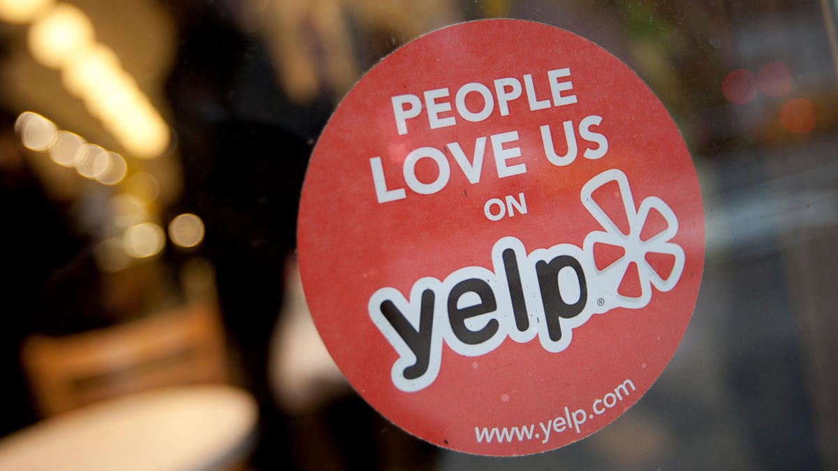 The Yelp Sticker