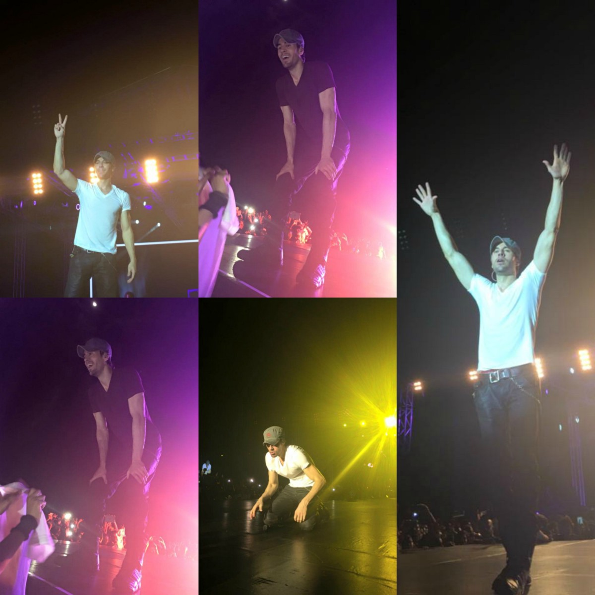 Cute to impossibility: Enrique Iglesias showed how to entertain children
