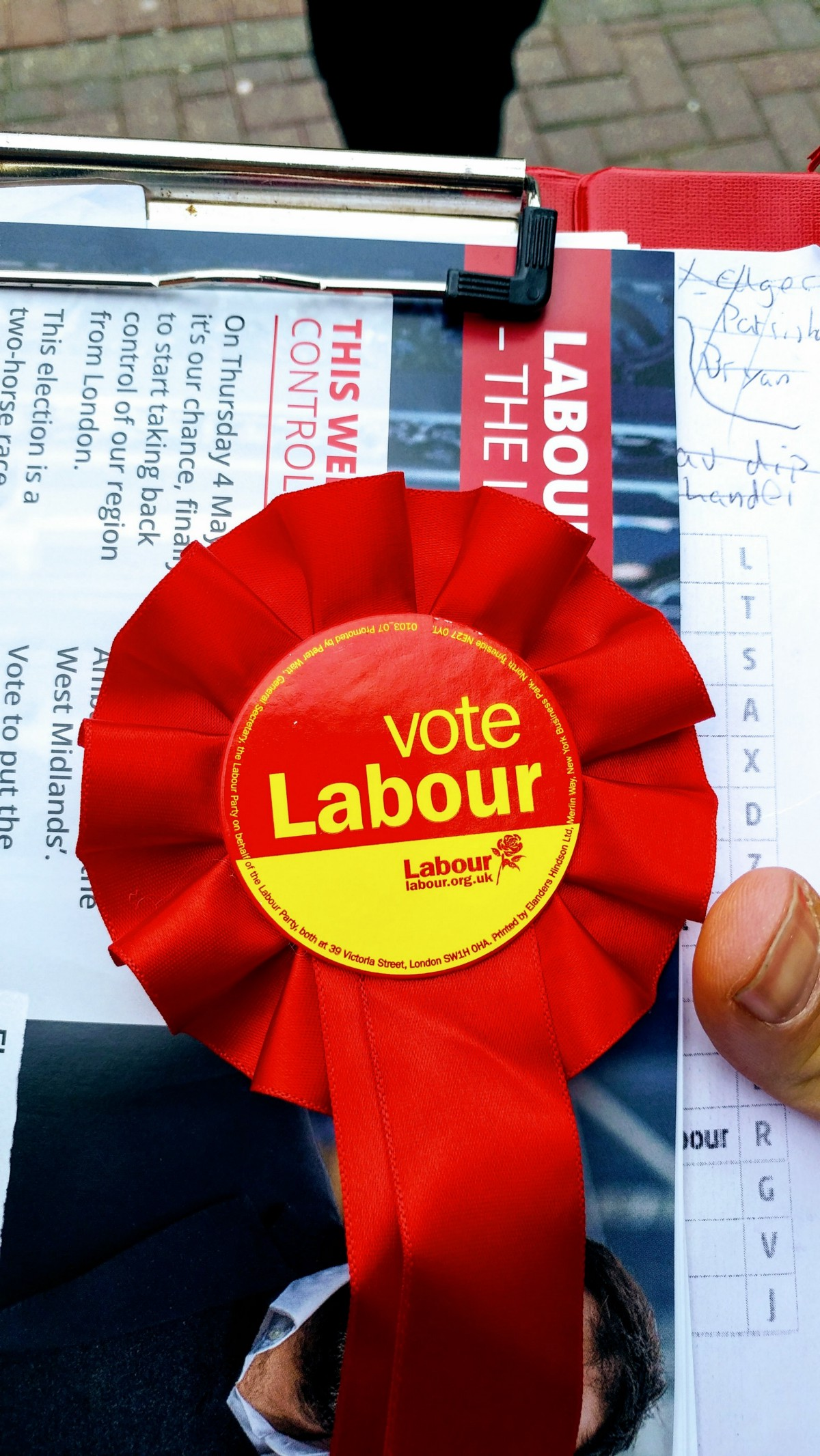 This General Election Ive Decided To Get Out Of My Political Armchair And Put My Money Where My Mouth Is So Ive Been Out Door Knocking For Labour
