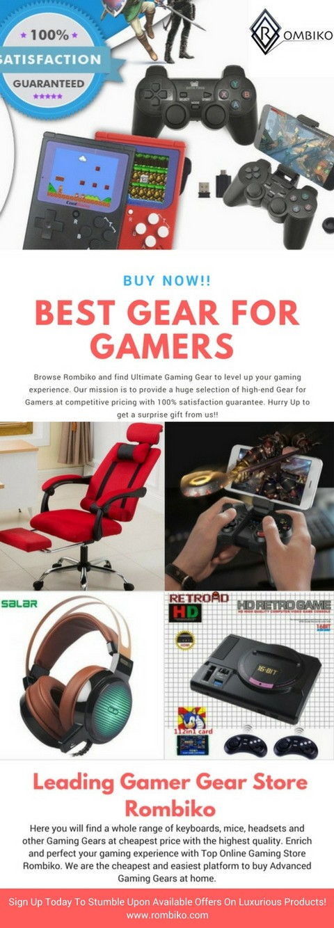 Shop Online Cheap Gaming Gear Store – Rombiko Gaming Gears