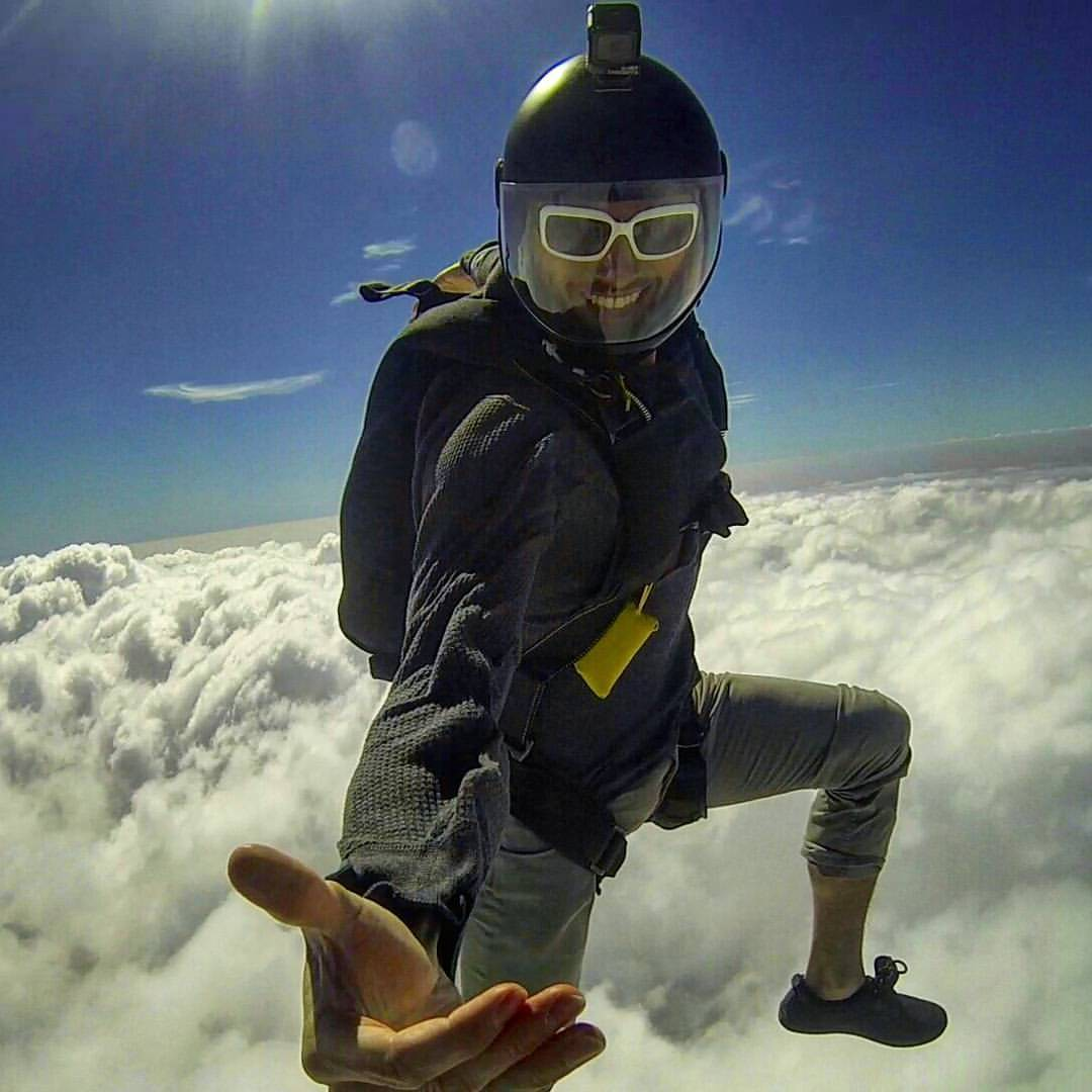 Skydiving builds bridges and can spread environmentally sustainable stoke!