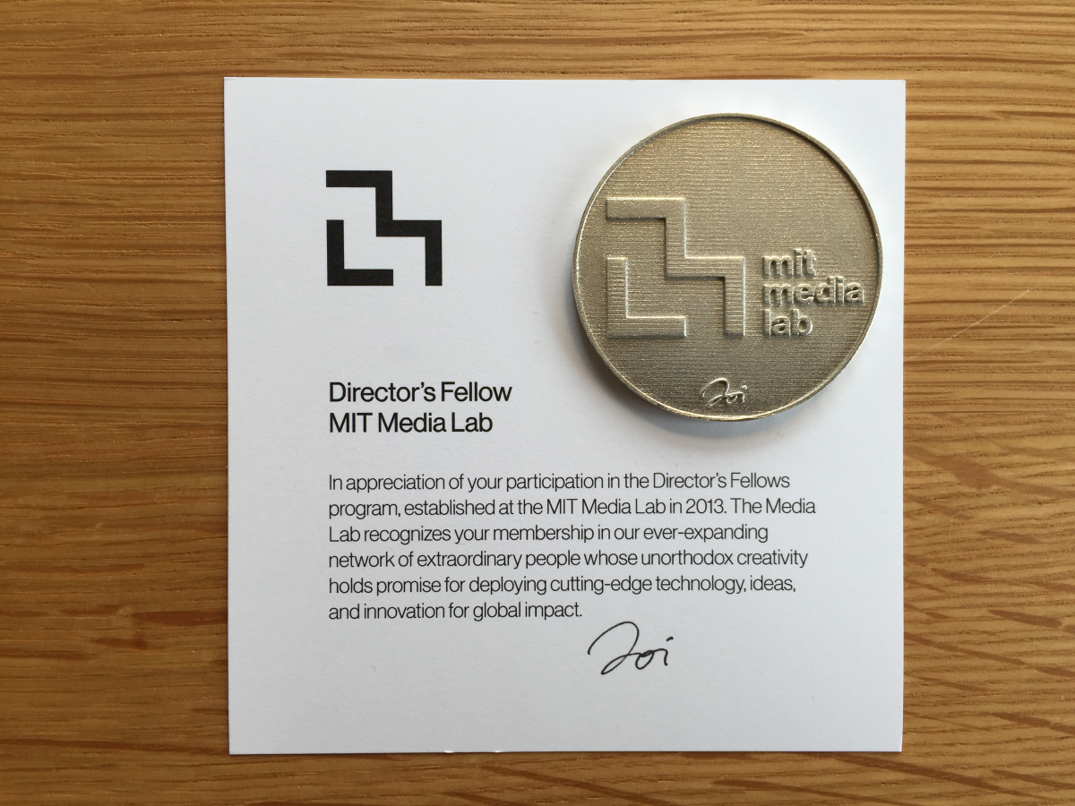 Certificates reputation and the blockchain mit media lab medium for example in july we issued coins and certificates to all of the media lab directors fellows the coins are physical representations of digital xflitez Choice Image