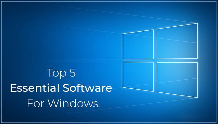 new pc essential software
