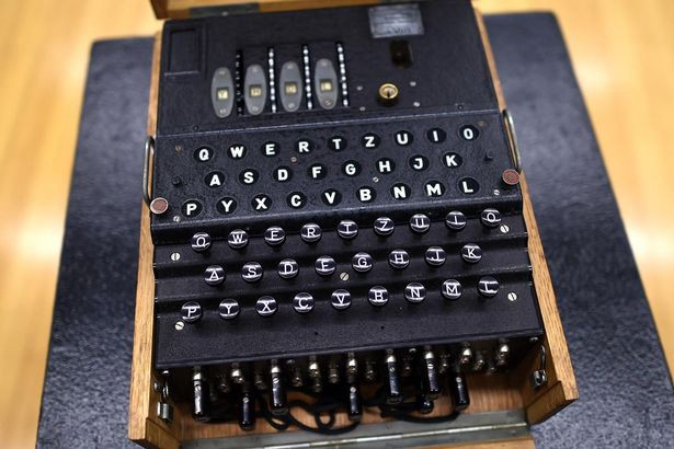 Encryption On WW2 The Enigma Machine Used By Nazi This Was Painful To Use