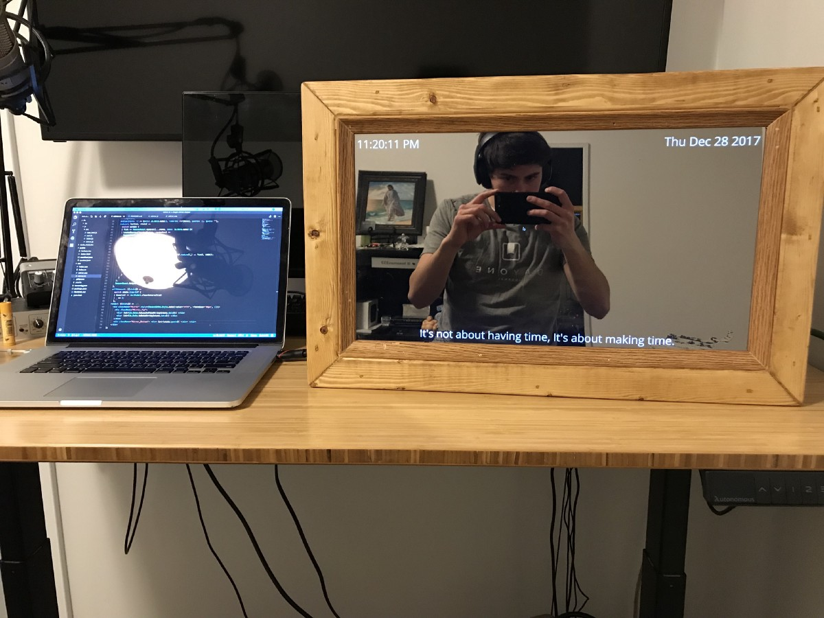 How To Build A Smart Mirror Codeburst