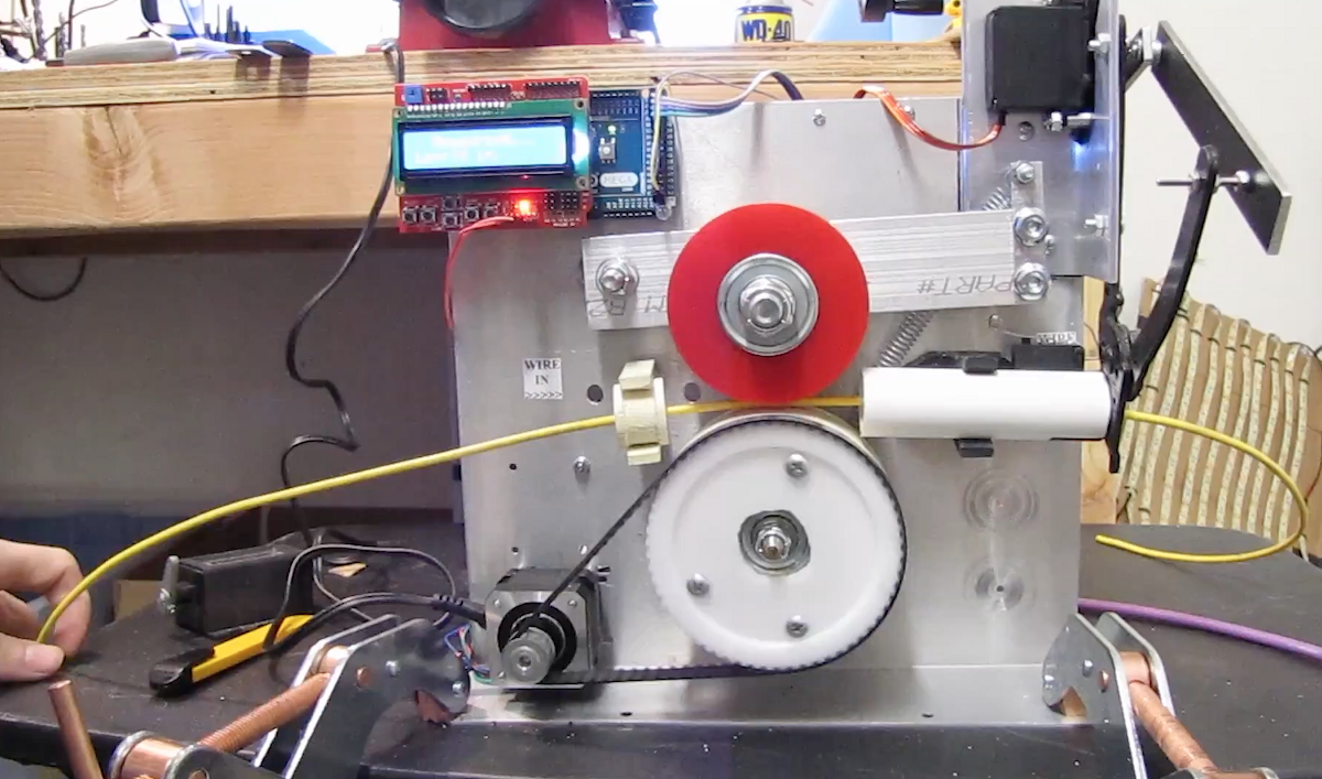 Automatic Cable Cutting Machine Hackster Blog