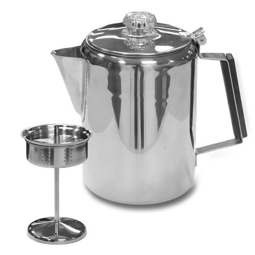 Stainless Steel Percolator Coffee Pot From Wayfair