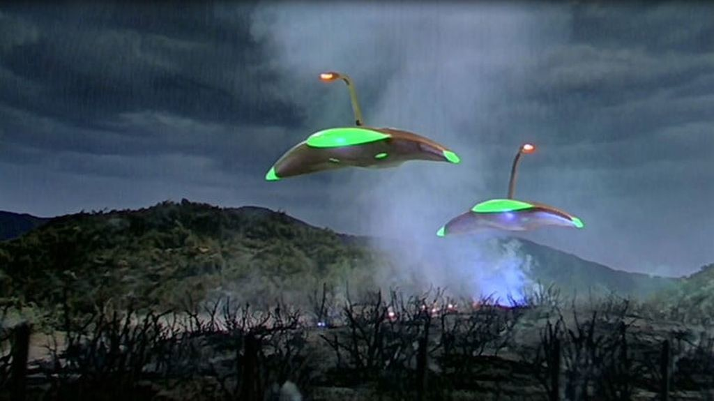 Image result for war of the worlds 1953 spaceship