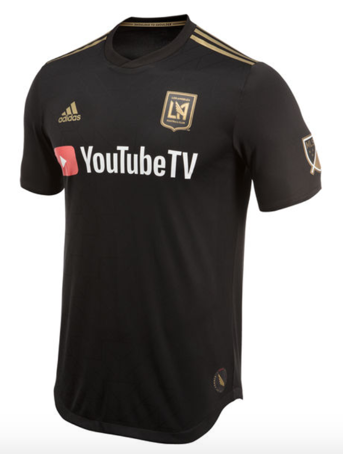 65448e29e 13) Los Angeles FC. Haha. Speaking of sponsors ruining great designs