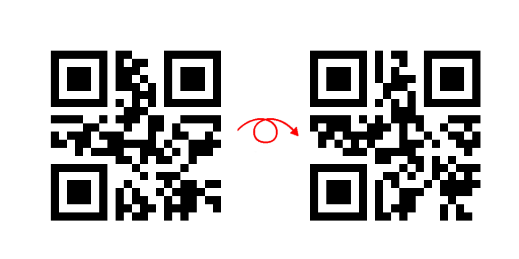 DOUBLE-SIDED QR-CODE