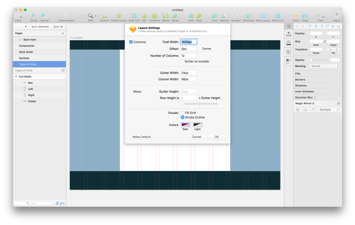 A Step-by-Step Guide for Starting a New App Design Project in Sketch