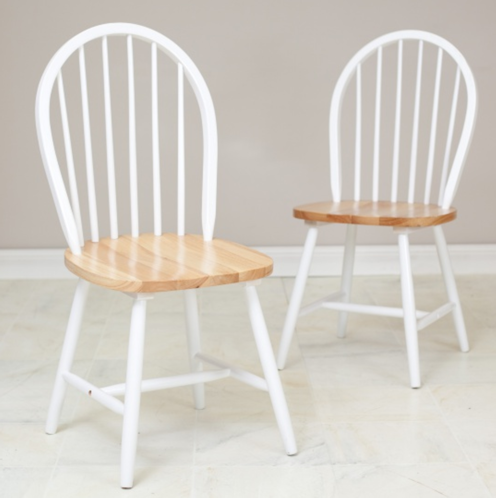 ... Back Supported By Vertical Slats Or Rods. Spindle Legs Are A Common  Feature Too. Add Windsor Chairs When You Want Vintage Style With Casual  Charm.