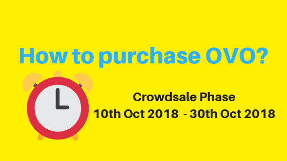 How to purchase OVO? (10th-30th Oct) – ICOVO – Medium