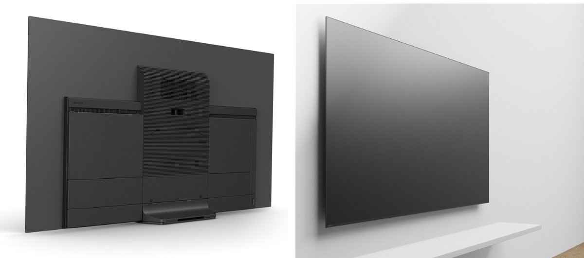 Sony A8f Oled 4k Hdr Tvs With Acoustic Surface Announced