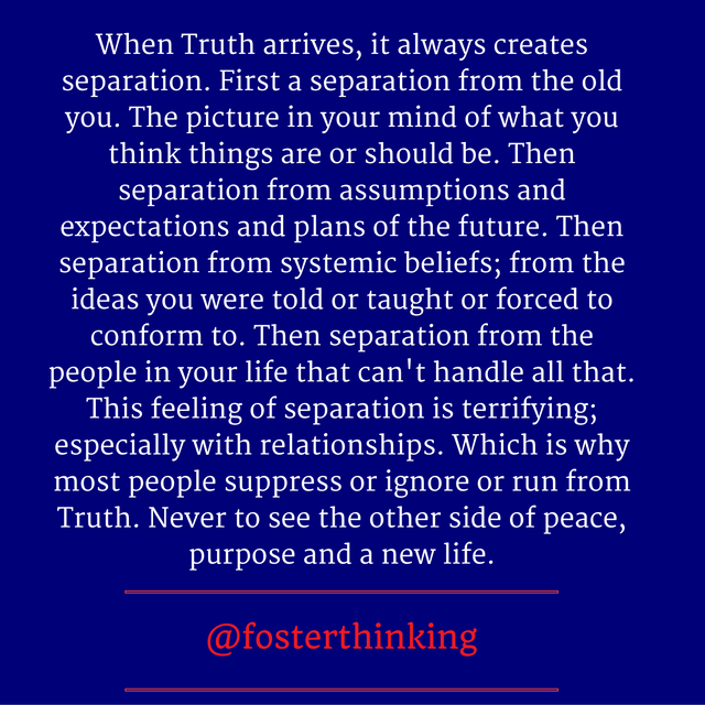 A Missive On The Sharp Blade Of Truth Justin Foster Medium