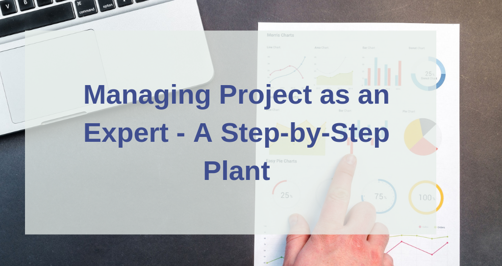 managing project as an expert  u2014 a step