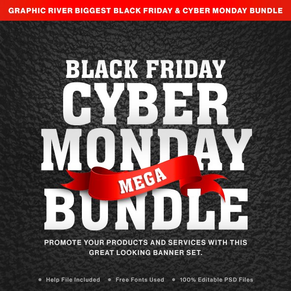 16d6e3c9cfb This bundle includes multiple sets of Black Friday sale banners that you  can quick and easily modify to A B test and optimize until you increase  engagement ...