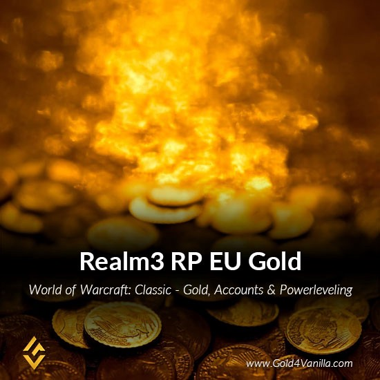 Buy Gold, Accounts & Powerleveling for Realm3 RP, a Classic WoW EU