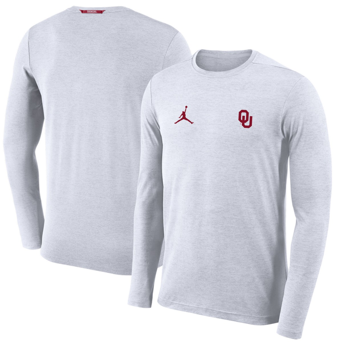 d0383d0039cd16 Or Crimson   Direct Link . Jordan Men s Oklahoma Sooners Sideline Coaches  Long Sleeve T-Shirt
