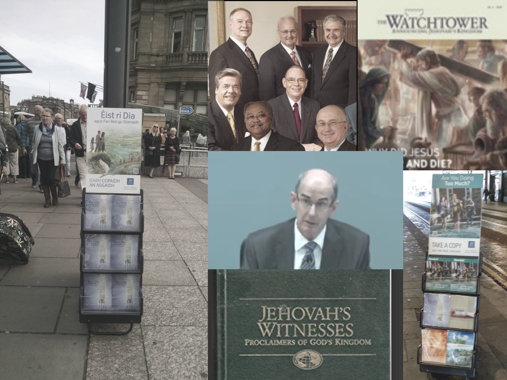 If you have any doubt that the religion of Jehovah's Witnesses is full of contradictions and hypocrisy, don't take my word for it, but get yourself a copy ...