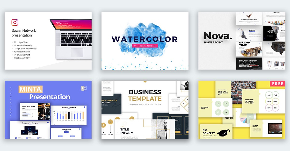 powerpoint templates 85 free presentation templates trending in 2018