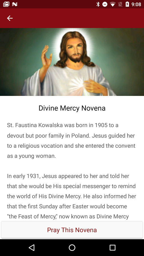 30 day novena to our lady