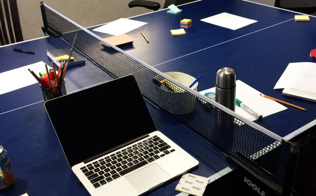 In the PingPong Room: How I moderated a design exercise as the sole designer