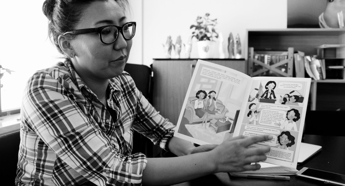 These women are challenging Mongolia's gender norms with comic books