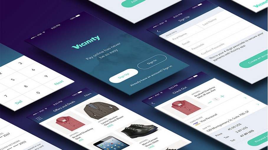 Latest mobile app interface designs for your inspiration