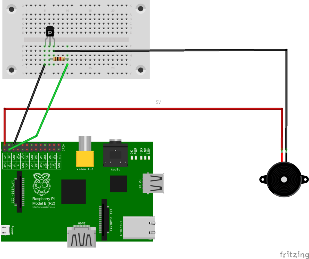 Raspberry Pi Temperature Controlled Fan Hacker Noon Relay Wiring Diagram Pin 6 Ground Will Be Connected Over The Transistor With 2nd Wire