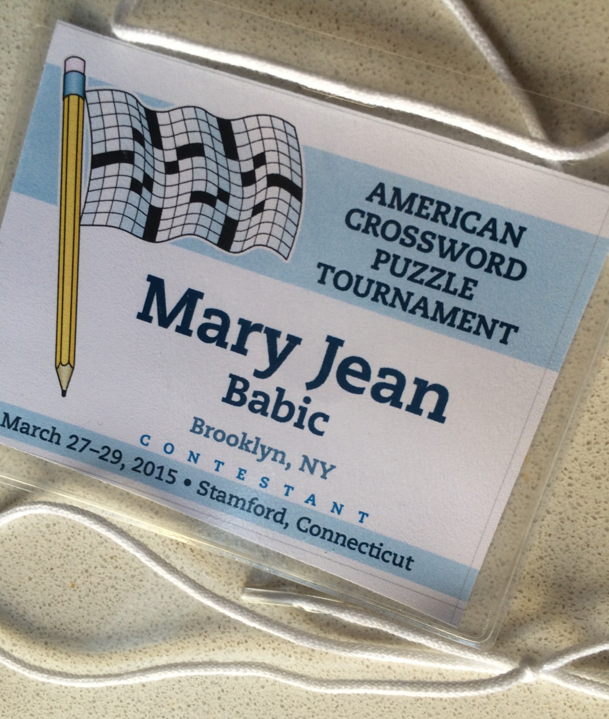 & A Rookie at the American Crossword Puzzle Tournament 25forcollege.com
