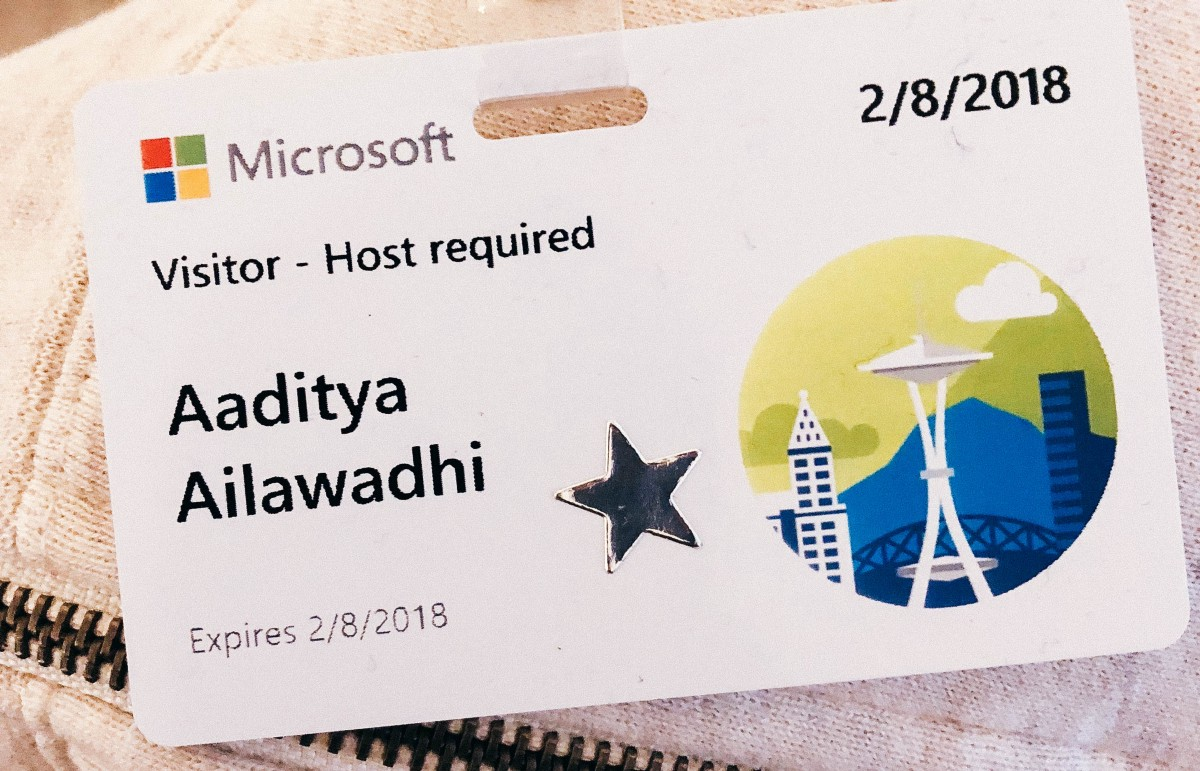 Why I wanted to Intern at Microsoft as a designer, and how I made it happen.