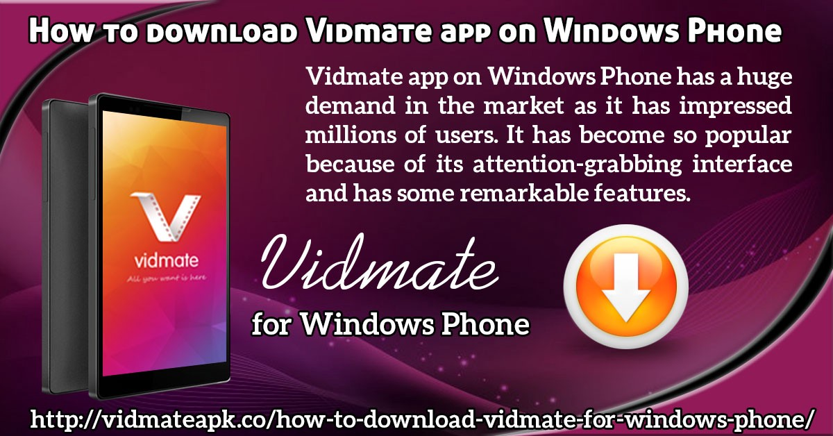Download Vidmate For Windows Phones Vidmate Apk Medium