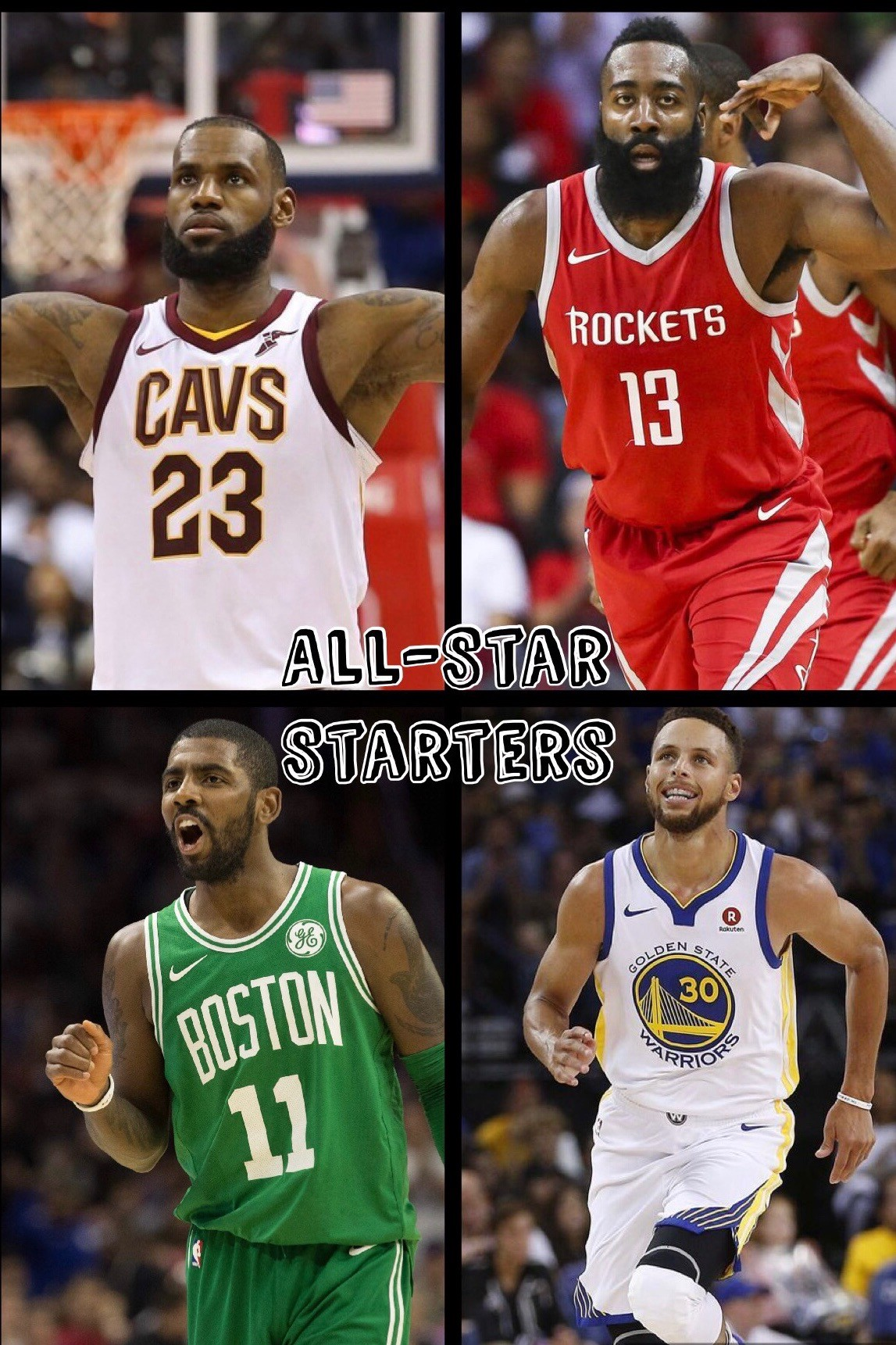 6d70a840c60 The actual All-Star starters will come out Thursday on TNT. Currently, the  starters for the Eastern Conference would be: Kyrie Irving, DeMar DeRozan,  ...